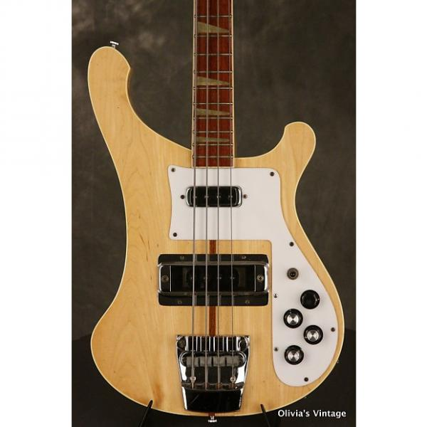 Custom Rickenbacker 4001 Bass  1976 Mapleglo #1 image