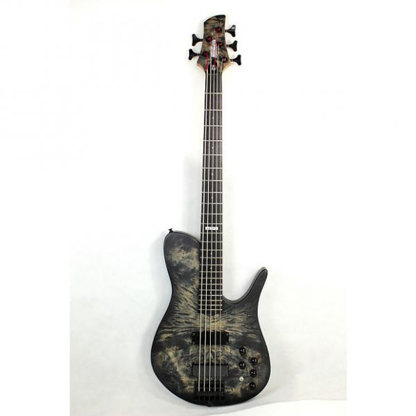 Custom KRAKEN 5STRING BASS B-105 2016 Satin/BK #1 image