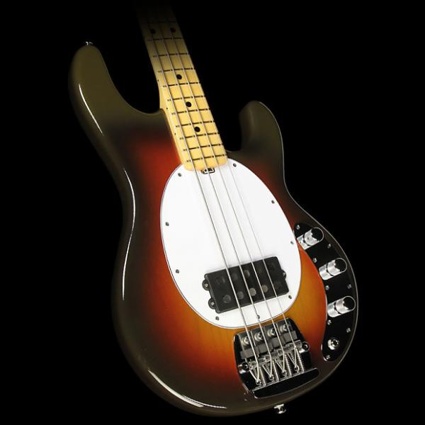 Custom Ernie Ball Music Man 40th Anni StingRay Old Smoothie Electric Bass Chocolate #1 image