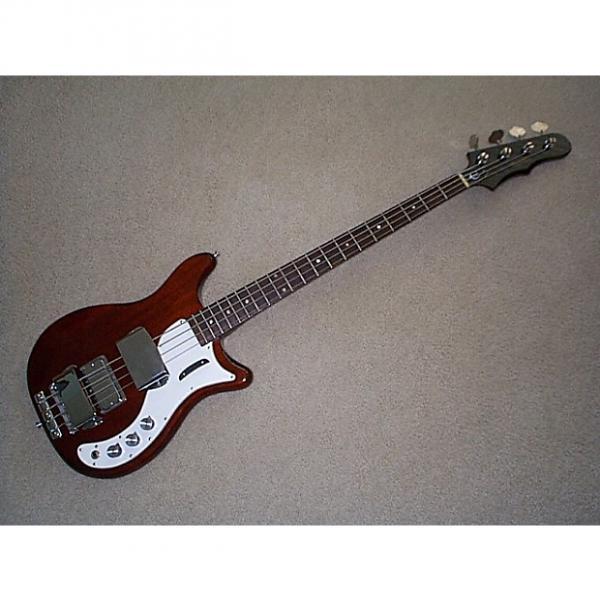 Custom Epiphone Embassy Bass 1968 Cherry #1 image