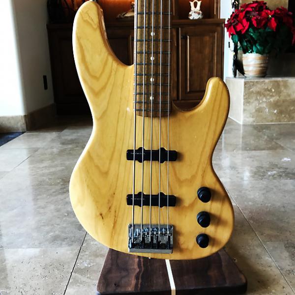 Custom Fender USA 5 String Jazz Bass Plus V - Lace Sensor Pickups and Active EQ #1 image