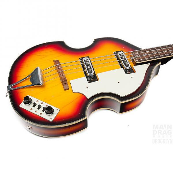 Custom Ca. 1975 Univox Violin Bass #1 image