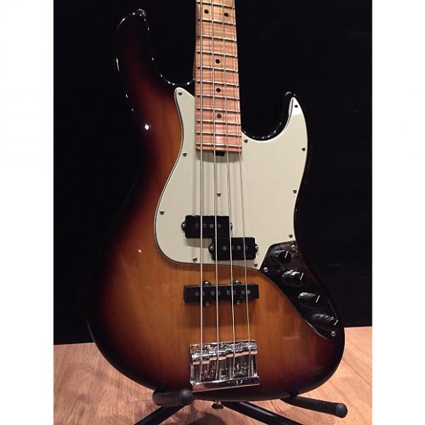 Custom Sadowsky NYC PJ bass Flame maple neck Sunburst #1 image