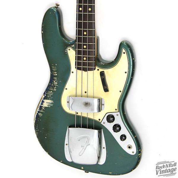 Custom 1965 Fender Jazz Bass Lake Placid Blue With Matching Headstock #1 image