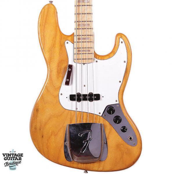 Custom 1975 Fender Jazz Bass - Natural #1 image