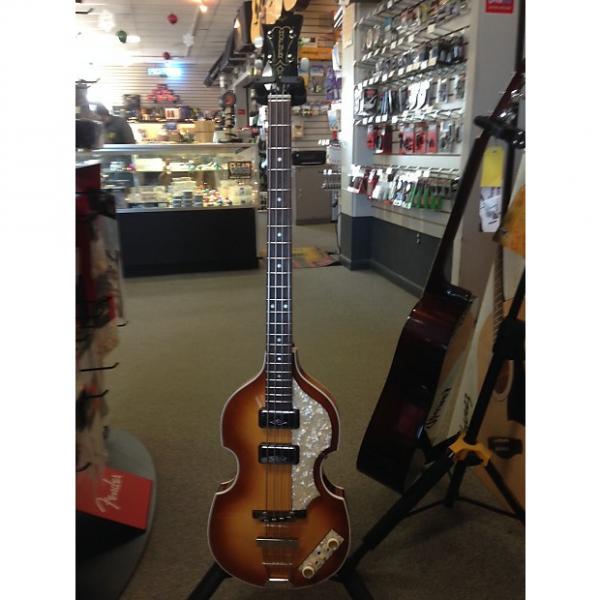 Custom Hofner 1961 Cavern Reissue Bass Guitar 500/1-61 Sunburst #1 image