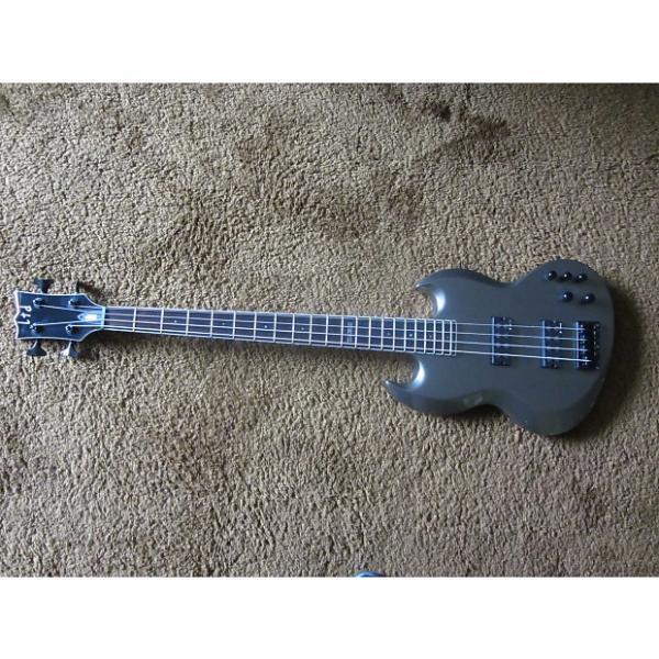 Custom ESP LTD Viper-304 4 String Bass Metallic Grey/Silver #1 image