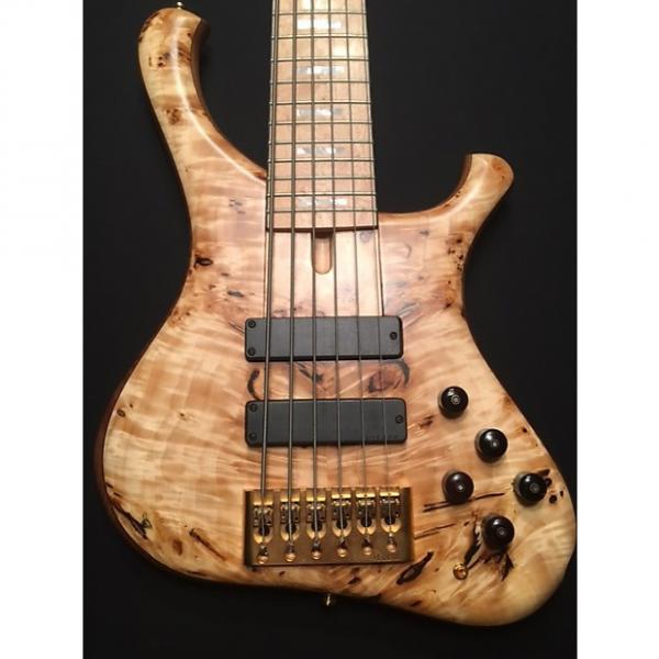 Custom Marleaux MINT custom signature bass exotic woods f zon fodera warrior #1 image