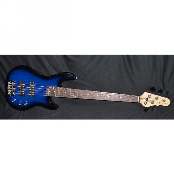 Custom G&L L2500 Tribute 2017 Blueburst #1 image