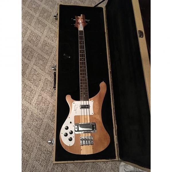 Custom left handed bass guitar miller #1 image