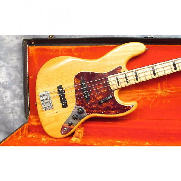 Custom 1972  Fender Jazz Bass Natural #1 image