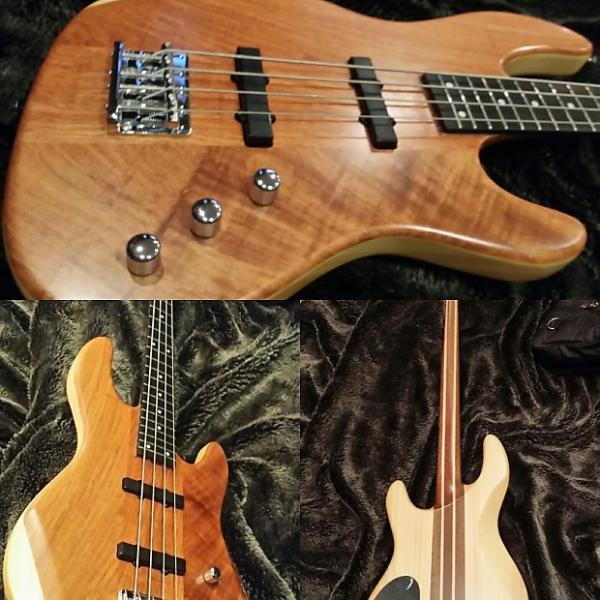 Custom Brand New Wolf  Jazz Bass 2016 Bubinga #1 image