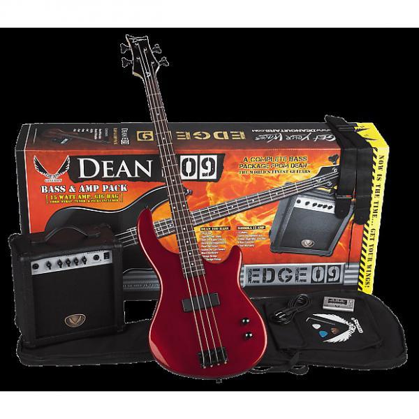 Custom NEW DEAN EDGE 09 CBK 4-STRING BASS PACK W/AMP & ACC #1 image