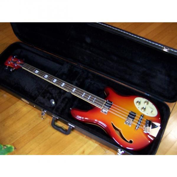 Custom Italia Rimini Electric Bass Guitar & Hard Case #1 image