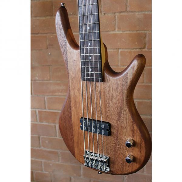 Custom Ibanez GIO Bass 5-String GSR105EX 2016 Natural #1 image