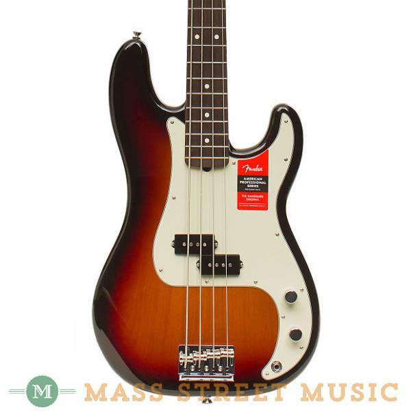 Custom Fender Basses - 2017 American Professional Precision Bass - Sunburst #1 image