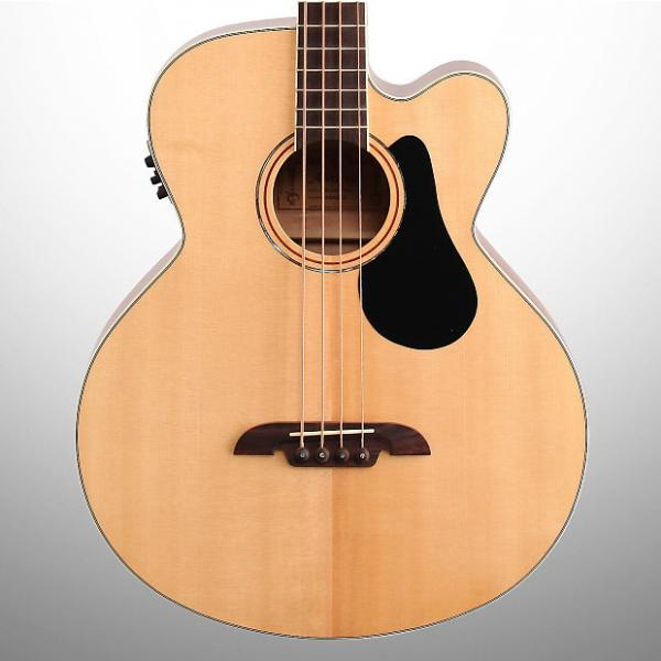 Custom Alvarez AB60CE Acoustic-Electric Bass #1 image