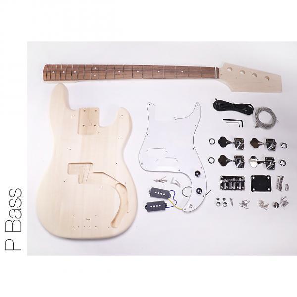 Custom DIY DIY Electric Bass Guitarit - P Bass Build Your Own #1 image