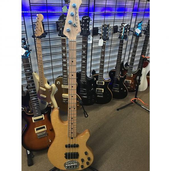 Custom Lakaland  44-02 Natural Maple Bass Guitar #1 image
