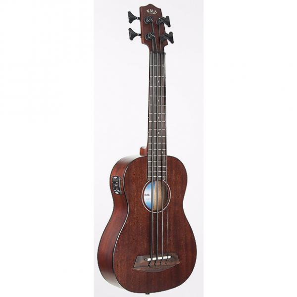 Custom Kala UBASS-RMBL-FL U-Bass Mahogany Back/Sides Fretless w/Bag #1 image