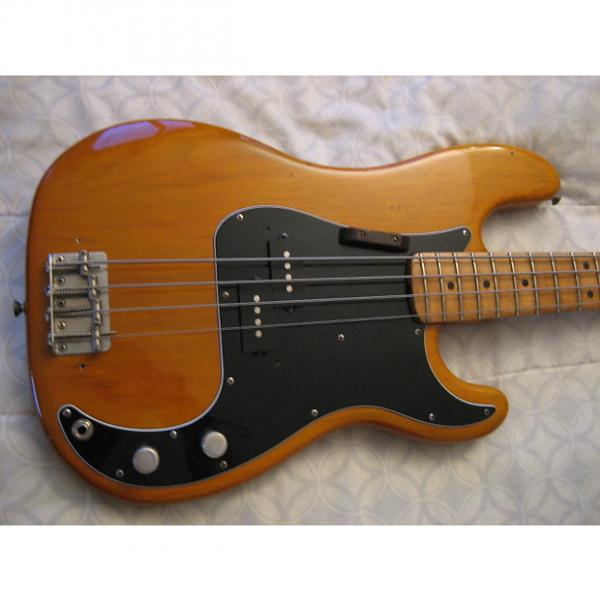 Custom Fender Precision 1975-1976 Natural #1 image