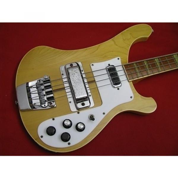 Custom Rickenbacker 4001  1974 Maple Glo #1 image