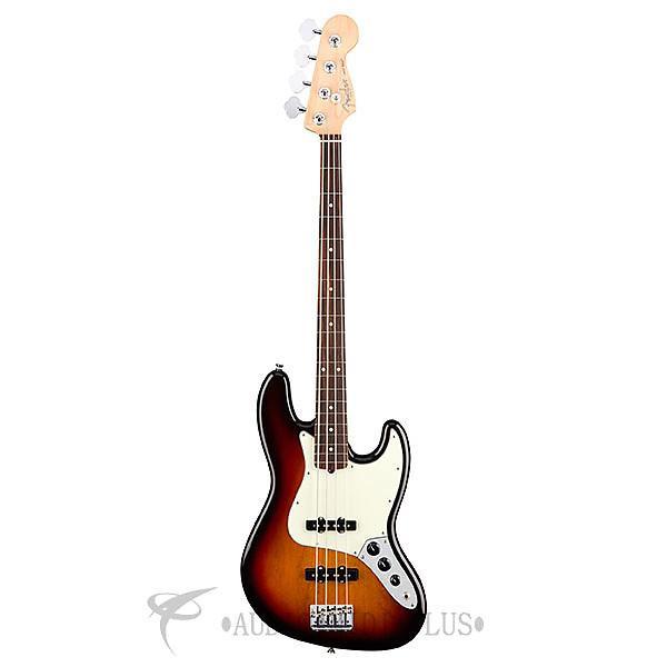 Custom Fender American Professional Jazz Bass Rosewood FB Electric Bass 3 Color Sunburst - 0193900700 #1 image