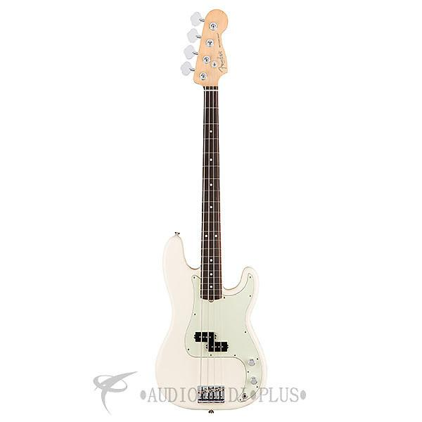 Custom Fender American Professional Precision Bass Rosewood Electric Bass Olympic White - 0193610705 #1 image