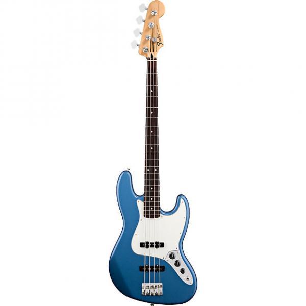 Custom Fender Standard Jazz Bass RW Lake Placid Blue #1 image