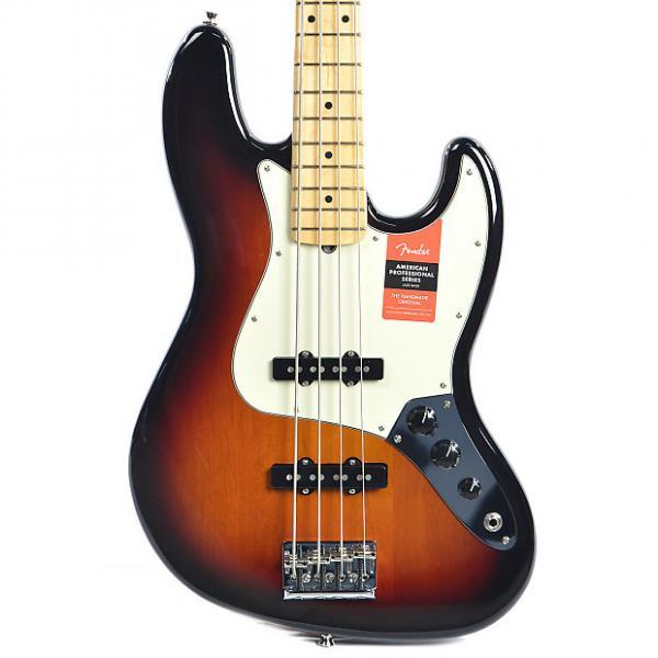 Custom Fender American Pro Jazz Bass MN 3-Color Sunburst #1 image