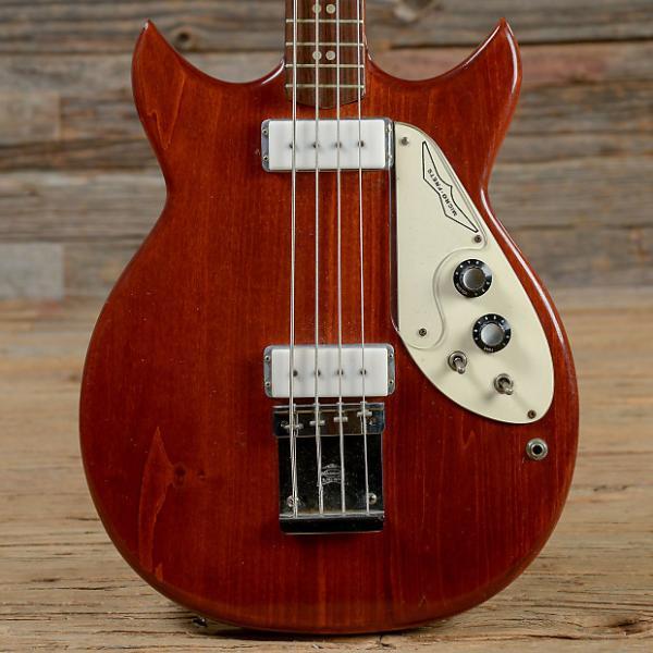 Custom Micro-Frets 4-String Bass Natural 1975 (s354) #1 image