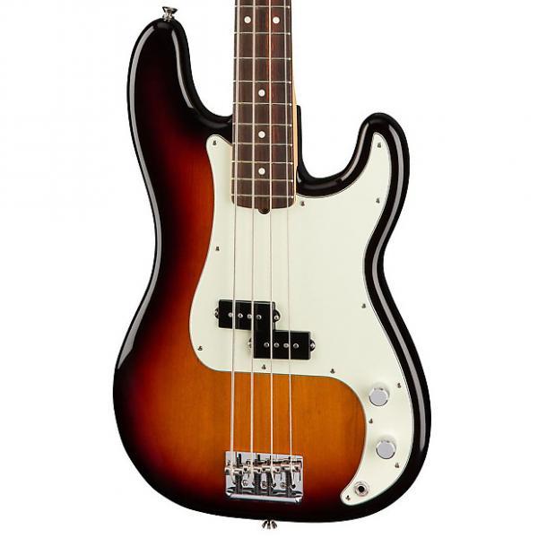 Custom Fender American Pro Precision Bass, Rosewood Fingerboard - 3 Color Sunburst #1 image