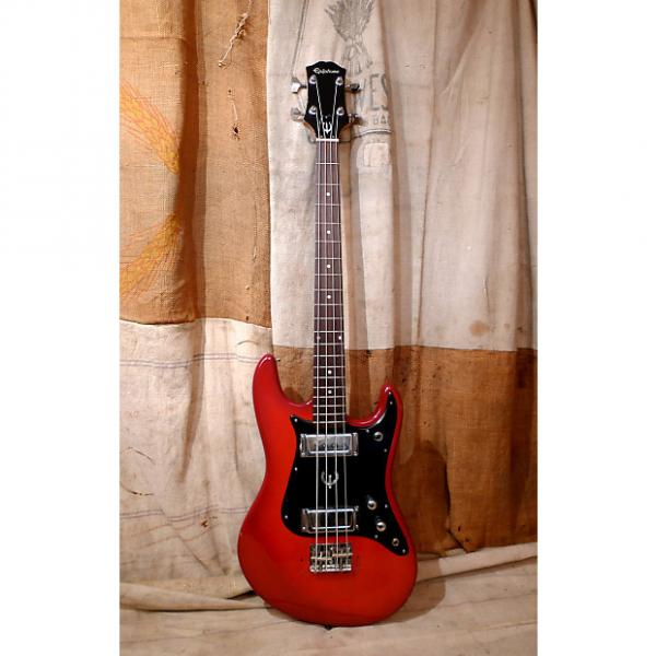 Custom Epiphone ET-280 Bass Guitar 1970's Red #1 image