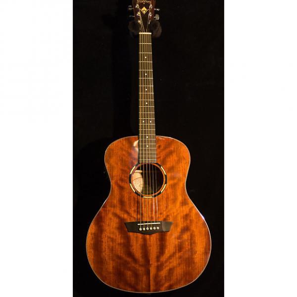 Custom Washburn WL0125E Orchestra Model acoustic/electric #1 image