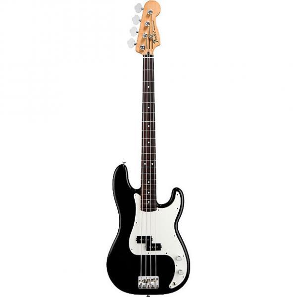 Custom Fender Standard Precision Bass Rosewood Fingerboard Black #1 image