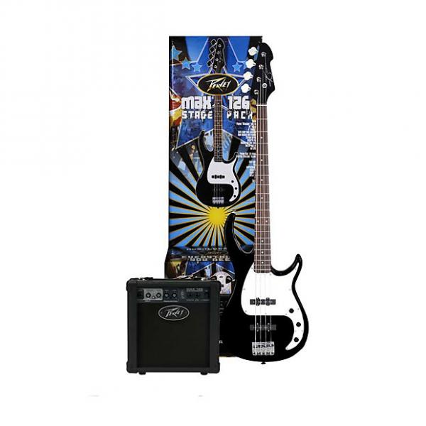 Custom Peavey MAX Bass Pack - Milestone bass guitar, 126 bass amp, cable, bag, tuner,strings 03569020 2016 #1 image