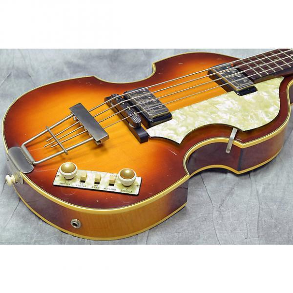 Custom Hofner 500/1 62 Violin Bass #1 image