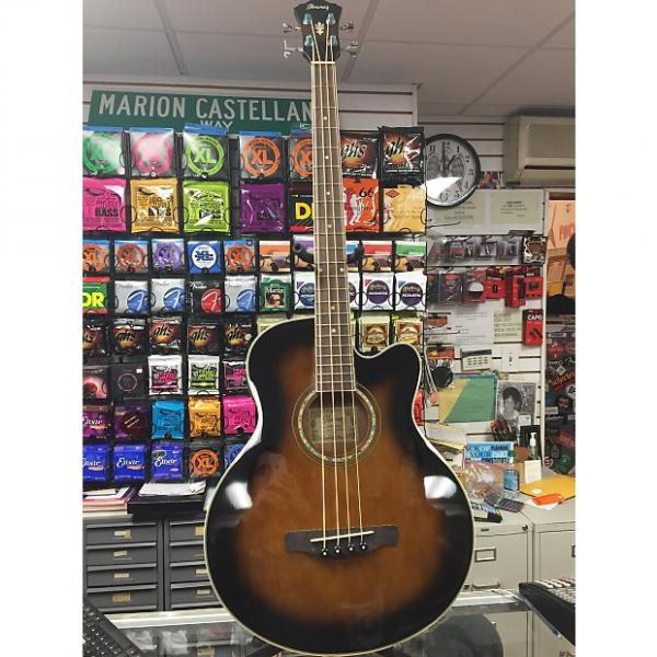 Custom Ibanez AE Series AEB10E Acoustic Bass #1 image