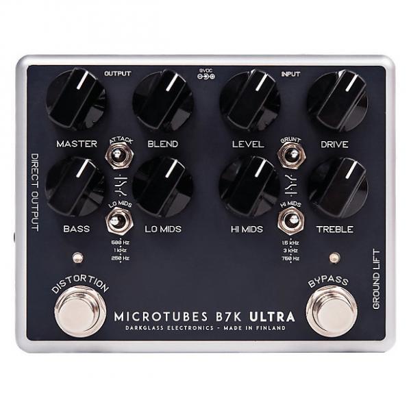 Custom DARKGLASS Microtubes B7K Ultra Overdrive Bass Effect Pedal #1 image