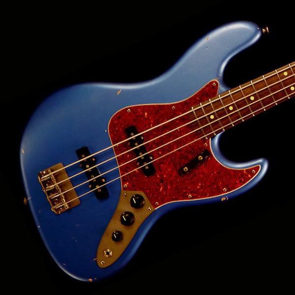 Custom Nash JB-63 Bass Guitar - Lake Placid Blue - Nash JB-63 Bass Guitar - Lake Placid Blue #1 image