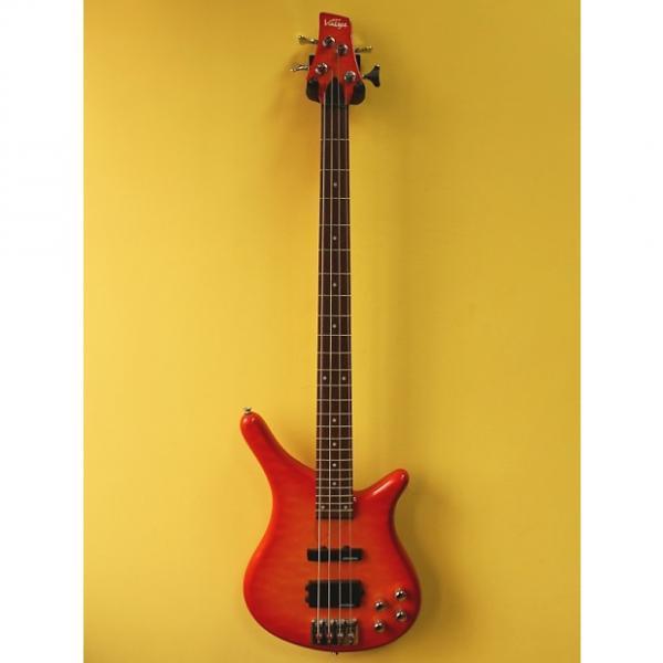 Custom Vintage V990 SQM Active Bass Guitar #1 image