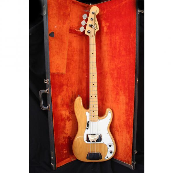 Custom Fender  Precision Bass 1974 Natural #1 image