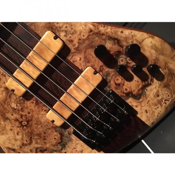 Custom MINT Benevente Signature 5 String Bass Buckeye Wenge exotic woods fodera zon F roscoe #1 image