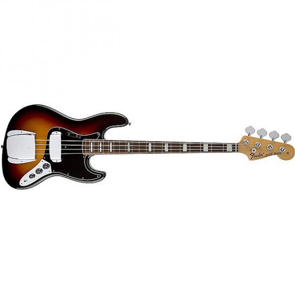 Custom Fender American Vintage '74 4-String Jazz Bass Guitar 3-Color Sunburst + Case #1 image