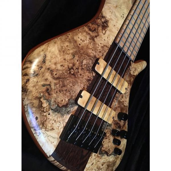 Custom Benavente  5 string bass buckeye exotic woods #1 image