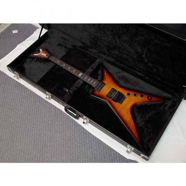 Custom Details about  DEAN Dime Stealth Floyd FM electric GUITAR Trans Brazilia w/ CASE - Flame Maple #1 image
