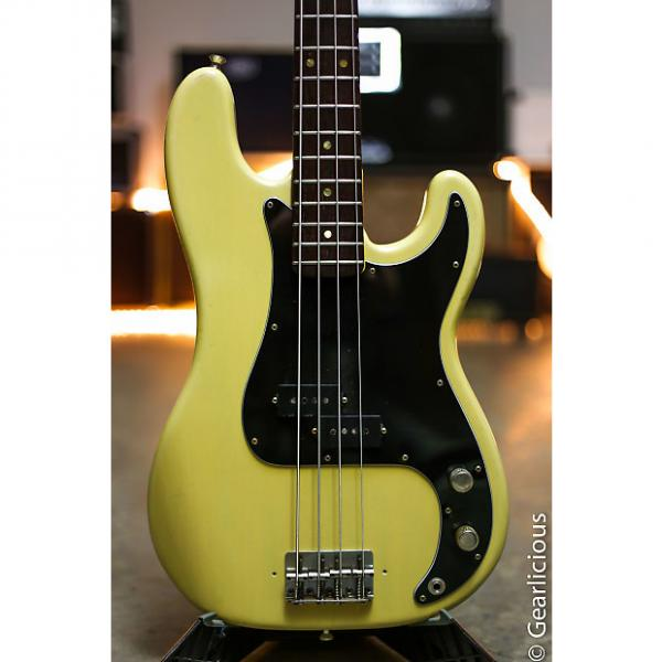 Custom 1969 FENDER PRECISION BASS OLYMPIC WHITE REFINISH OHSC P-BASS  grlc1995 #1 image