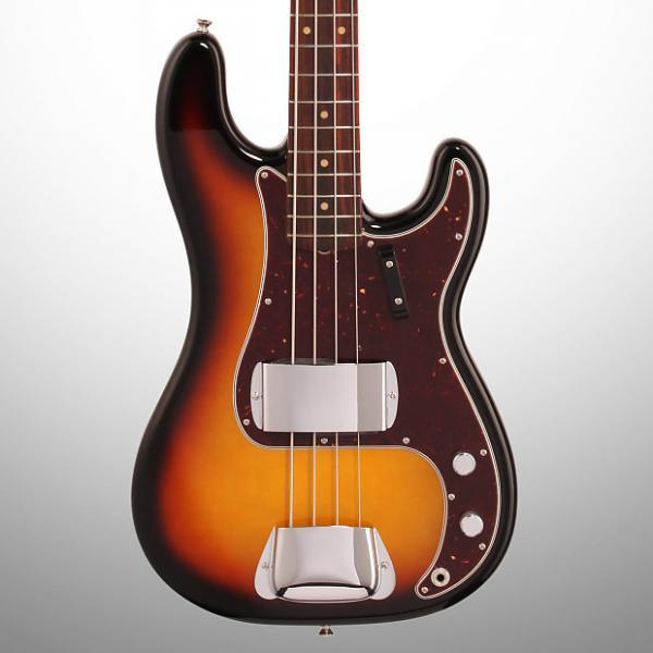 Custom Fender American Vintage '63 Precision Electric Bass, Rosewood Fingerboard w/Case, 3-Color Sunburst #1 image