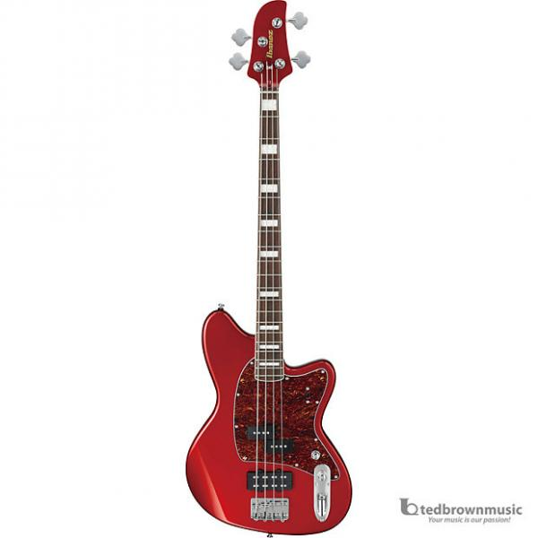 Custom Ibanez TMB300 4-String Talman Bass - Candy Apple Red - 2015 Model Closeout #1 image