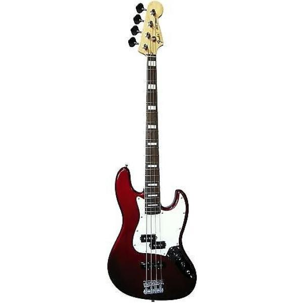 Custom Fender Japan 75 Precision bass aged candy apple red edition limitee #1 image